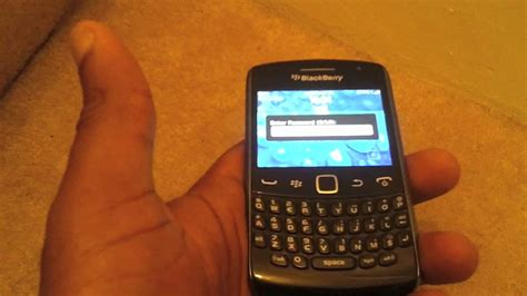 reset blackberry password on phone remove blackberry password if forgotten youtube