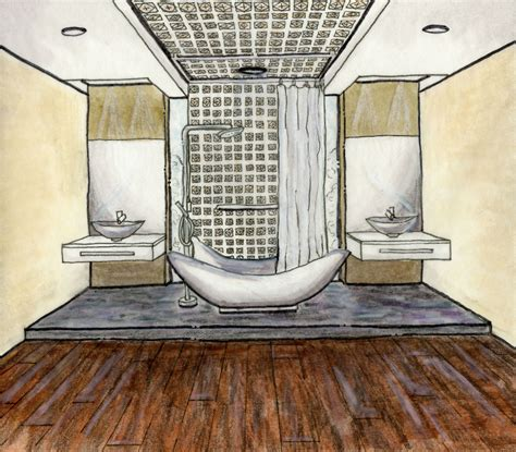 Floor Layout egyptian bathroom design design portfolio