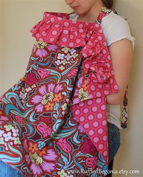 pattern for breastfeeding apron ruffled breastfeeding apron nursing cover up pdf sewing