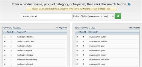 amazon keyword tool best amazon keyword tool list to optimize for success