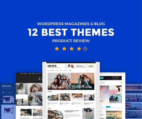 wordpress themes book review 12 best product review wordpress magazine themes and blog