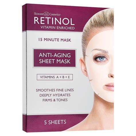 Dermedicine Retinol Detox Mask by Skin Care Ldel Cosmetics Anti Aging Sheet Mask