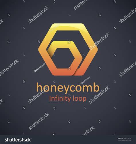 design concept honeycomb honeycomb logo design concept abstract creative honey