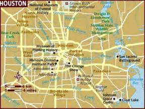 map of houston map of houston