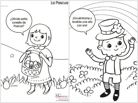 printable coloring pages in spanish spring coloring pages in spanish printable spanglishbaby