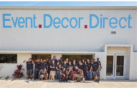 Event Direct Decor by Event Decor Direct Named To Inc 5000 List Of Fastest