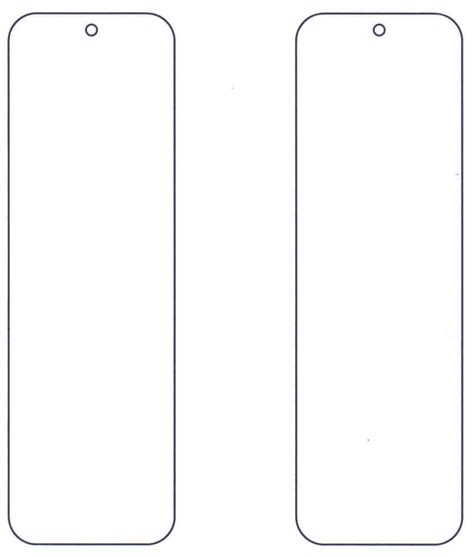 printable bookmark template design templates print thank you bookmark template