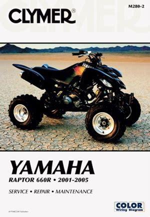 Yamaha Raptor Manual 660 Repair Service Shop