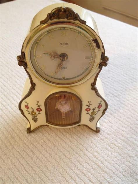 details  goldbuhl germany ballerina tv clock