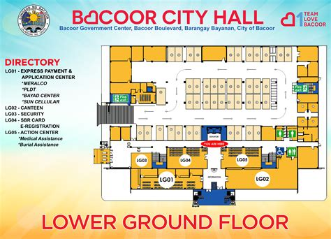 municipal hall floor plan local directories of bacoor government center bacoor government center