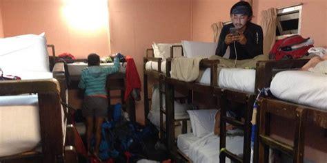 Kasur Bed Porter bermalam di salah satu penginapan tertinggi se asia
