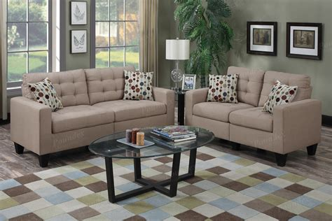 poundex sofa and loveseat poundex sofa 2 pcs sectional sofa bobkona furniture thesofa