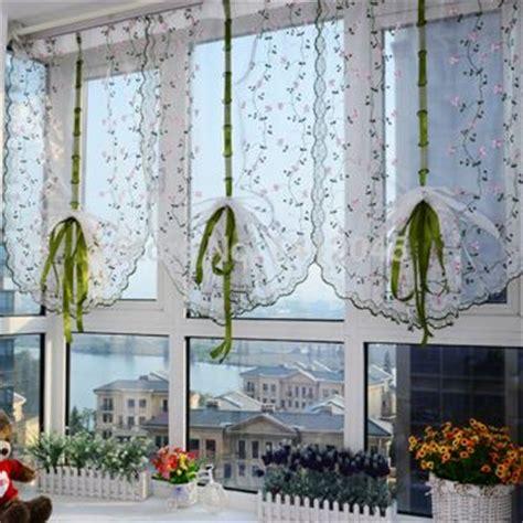 como hacer cortinas de cocina modernas