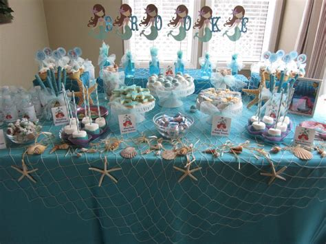 mermaid table decorations cravings by wendy white and the