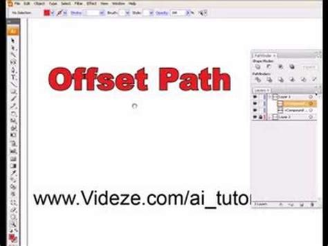 illustrator tutorial offset path 17 best images about illustrator on pinterest how to