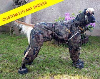 dog boat clothes any breed custom dog raincoat full body dog overall dog