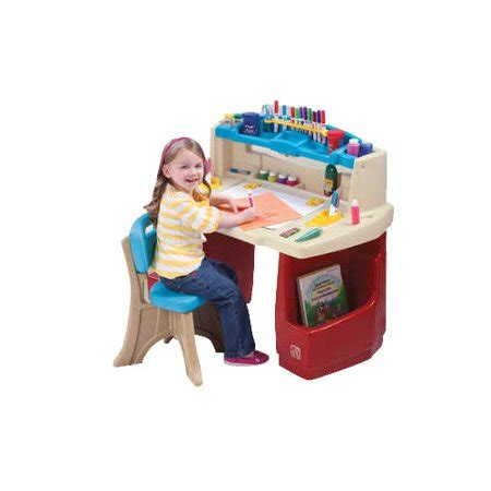 step2 deluxe master desk with chair step2 deluxe master desk walmart com