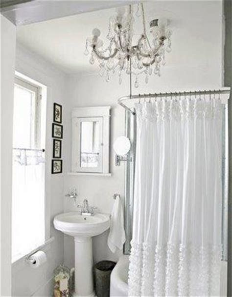 cottage style shower curtains ruffled shower curtain cottage bathroom the lettered