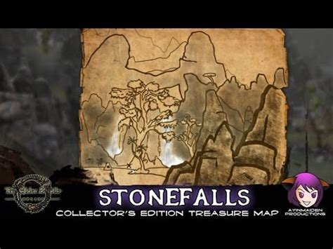 stonefalls ce treasure map elder scrolls stonefalls ce treasure map