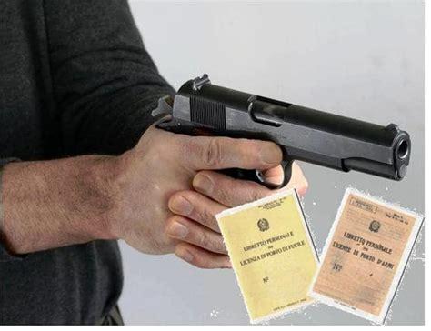 ufficio porto d armi porto d armi non idoneo per il rilascio ottiene licenza