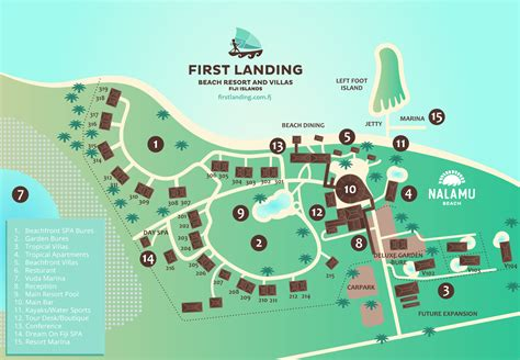 resort map resort map landing resort fiji