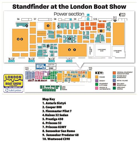 boat show 2017 map london boat show map motor boat yachting