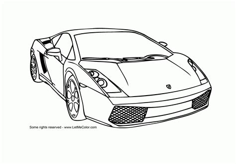 care coloring pages sports cars coloring pages free large images