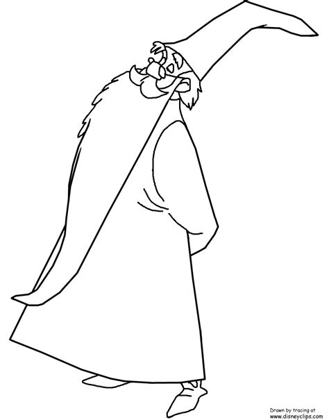 the sword in the stone coloring page frog coloring pages