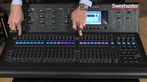 Mixer Midas M32 midas m32 digital mix console review sweetwater sound
