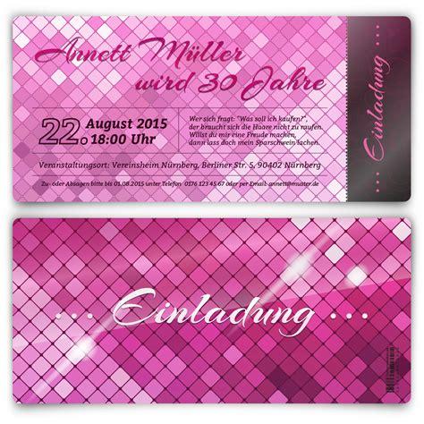 Pinkglam Auction Template 2 by Einladungskarten Zum Geburtstag In Pink Glanz
