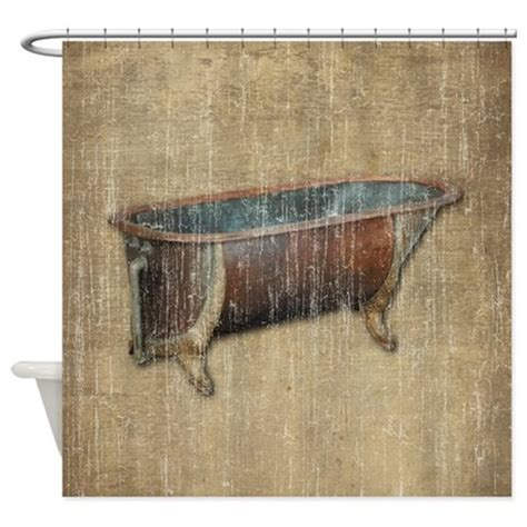 antique shower curtains antique bathtub shower curtain by iloveyou1