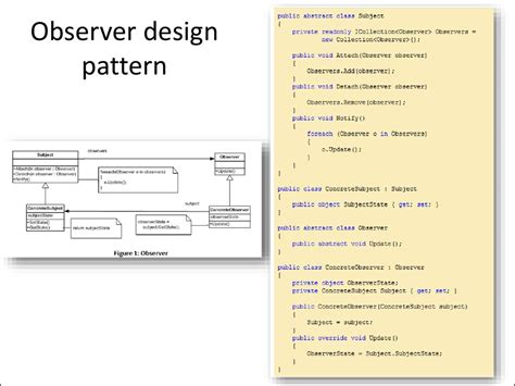 observer pattern in net mvc and mvp references online presentation