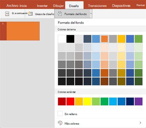 cambiar el fondo de powerpoint plantillas power point cambiar el color de fondo y tema de las diapositivas