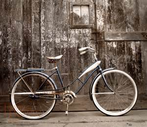 cycling home decor bicycle original photograph 8 215 10 rustic distressed