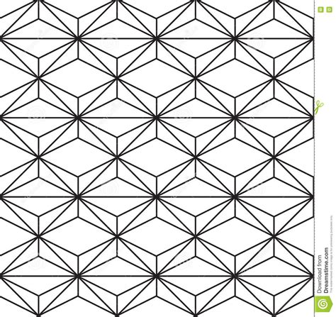 geometric pattern outline seamless black white geometric pattern outline stock