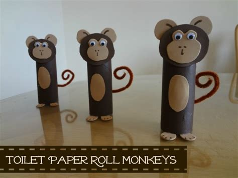 How To Make A Monkey Out Of Paper - how to make a monkey out of paper craft time toddler