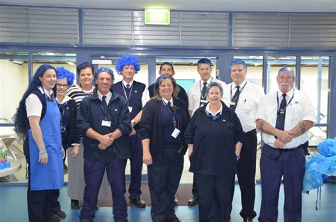 Geo Correctional Officer by Blue Do Locks In For Charity Photos Southern Cross