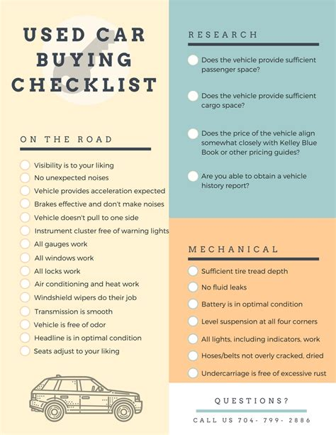 What To Look For When Buying A Used Truck by Checklist Of Things To Look For When Buying A Used Car