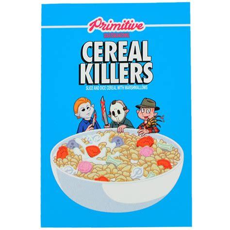 Tr3s Cereal Killer Cereal Killer primitive assorted skate stickers 10 pack