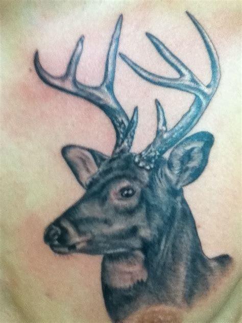 tattoo camo price realistic deer tattoo by brandon price tattoo ideas