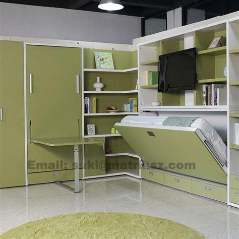 Tempat Tidur Lipat Ke Dinding lipat anak anak dinding tempat tidur anak anak tempat tidur dengan meja belajar anak anak