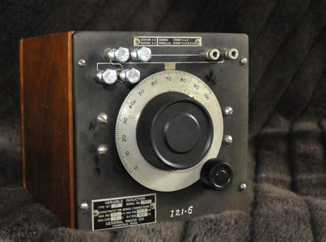 inductors in radio general radio gr 107n variable inductor pa4tim s opvangtehuis voor buizenbakken