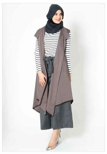 Baju Muslim Wanita Simple style fashion busana muslim wanita simple terbaru 2016