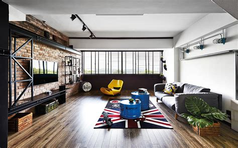 how to do the industrial style using furniture home
