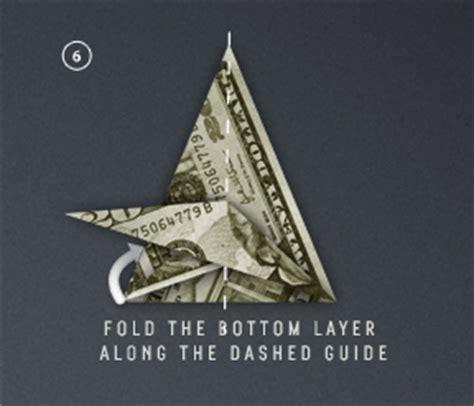 Origami Money Crane - money paper crane paper origami guide
