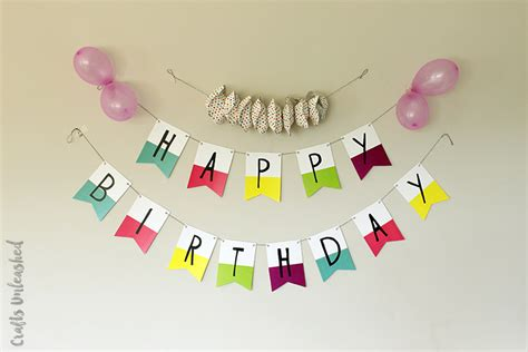 Happy Birthday Banner Printable by Free Printable Birthday Banners The Creative