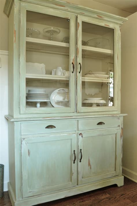 kitchen hutch ikea how to make a new piece of furniture look old with paint