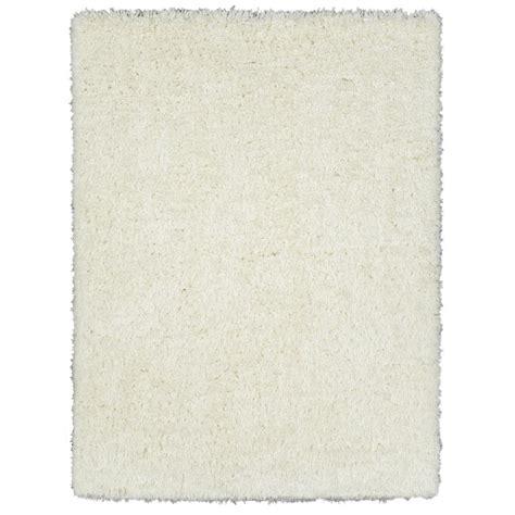flokati rug 5x7 ottomanson fuzzy flokati ivory 5 ft 3 in x 7 ft faux sheepskin indoor area rug ffr1002
