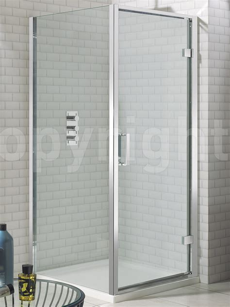 Shower Door 700mm Simpsons Elite Framed Hinged Shower Door 700mm