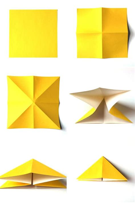 How To Make A Folded Paper - easy origami butterfly tutorial tip junkie
